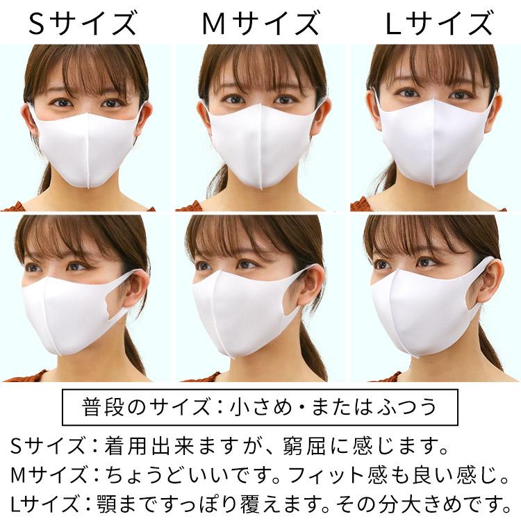 洗える伸縮立体マスク 着用レビュー 女性