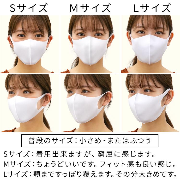 秋冬用 洗える伸縮立体マスク 着用レビュー 女性