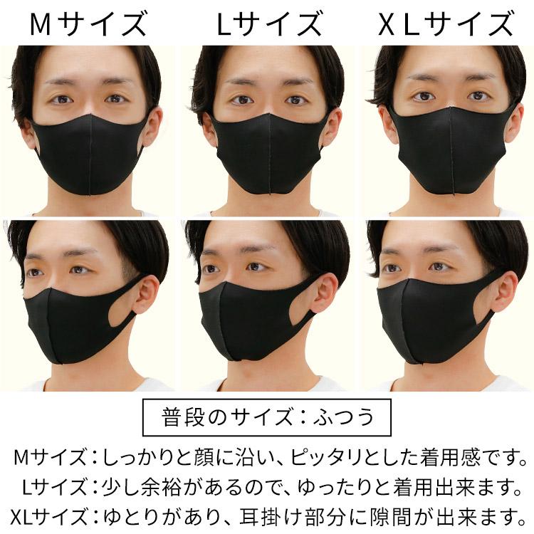 秋冬用 洗える伸縮立体マスク 着用レビュー 男性