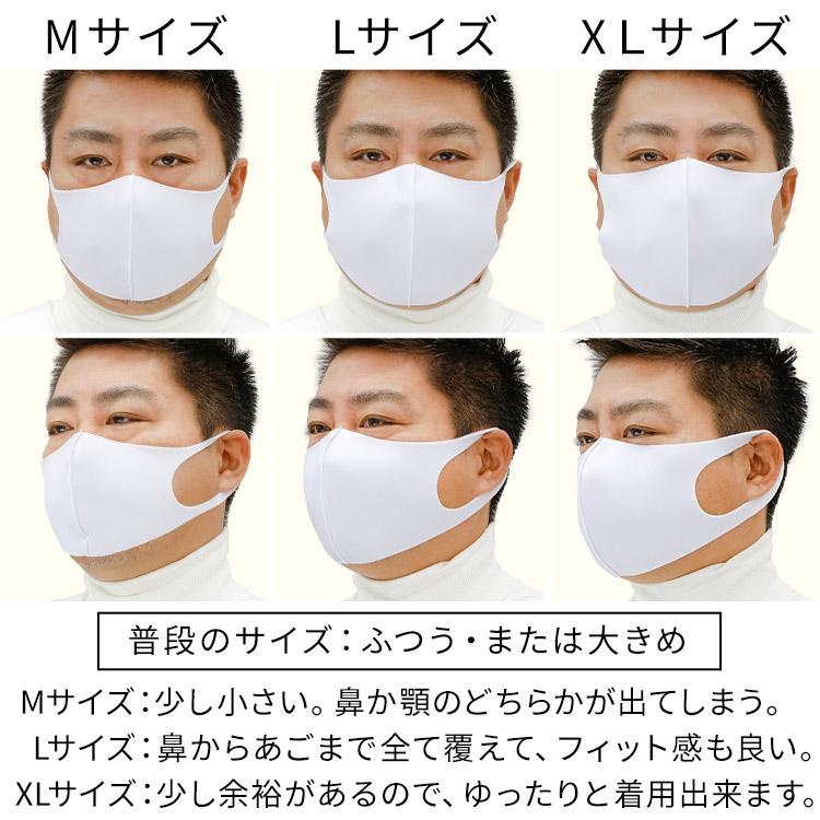 秋冬用 洗える伸縮立体マスク 着用レビュー 大きめ男性