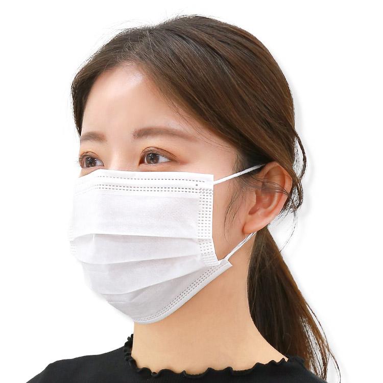 アクアドールのケア用品、50枚入り使い捨て不織布マスク 期間限定で使い捨て不織布マスクの販売を致します!